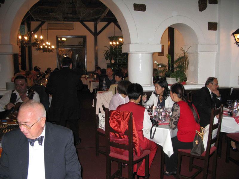 A kínai doktornők Maot Kongresszus 2013 vacsora